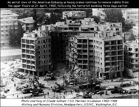U.S. Embassy Bombing (Beirut Memorial Online)
